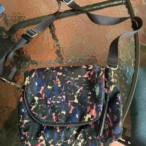 Lululemon multicolored crossbody purse
